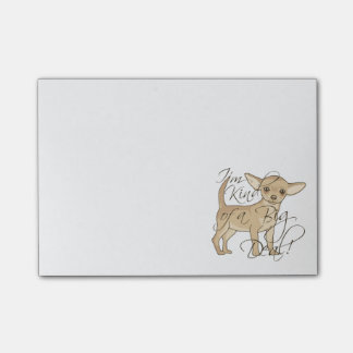 Chihuahua I'm Kind of a Big Deal Graphic Design Post-it® Notes