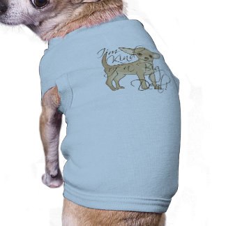 Chihuahua I'm Kind of a Big Deal Graphic Design Sleeveless Dog Shirt