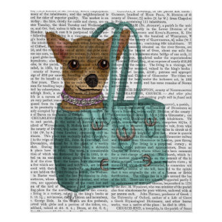 Chihuahua In Bag Poster