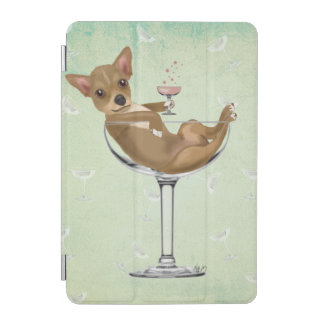 Chihuahua in Cocktail Glass iPad Mini Cover