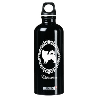 Chihuahua in mirror SIGG traveller 0.6L water bottle