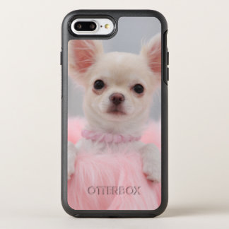 Chihuahua In Pink OtterBox Symmetry iPhone 7 Plus Case