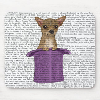 Chihuahua in Top Hat Mouse Pad