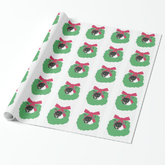 Chihuahua in Wreath Wrapping Paper