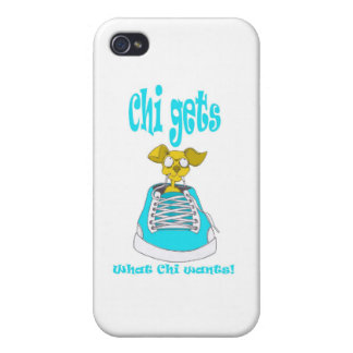 Chihuahua Junkie Covers For iPhone 4