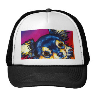 Chihuahua LC black and tan Mesh Hat