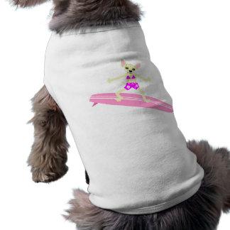 Chihuahua Longboard Surfer Girl Shirt