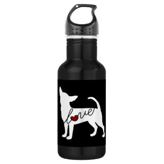 Chihuahua Love 532 Ml Water Bottle
