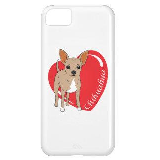 Chihuahua Love Heart iPhone 5C Covers