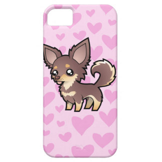Chihuahua Love (long coat) Barely There iPhone 5 Case