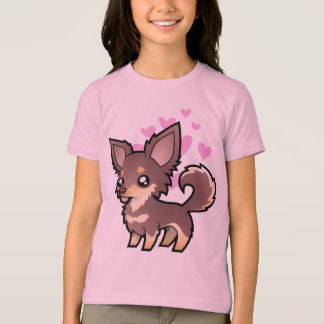 Chihuahua Love (long coat) T-Shirt