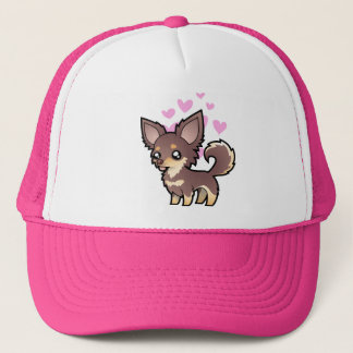Chihuahua Love (long coat) Trucker Hat