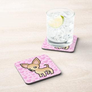 Chihuahua Love (smooth coat) Coaster