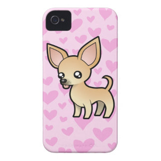Chihuahua Love (smooth coat) iPhone 4 Case-Mate Cases