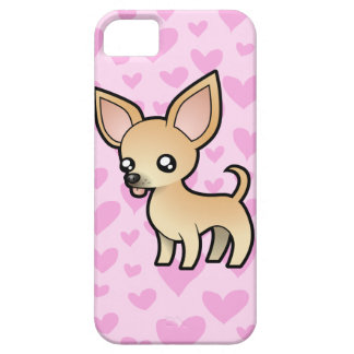 Chihuahua Love (smooth coat) iPhone 5 Case