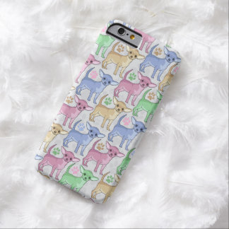 Chihuahua Lover Colorful Pattern Barely There iPhone 6 Case