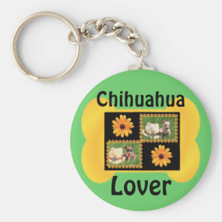 Chihuahua Lover Delight Key Ring