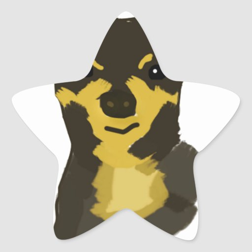 Chihuahua Lover Star Stickers