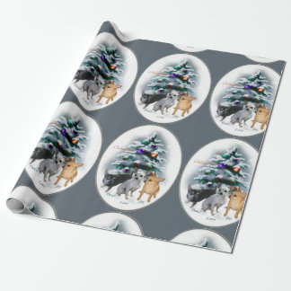 Chihuahua Lovers Christmas Wrapping Paper
