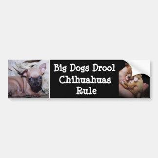 Chihuahua Lover's Delight Bumper Sticker