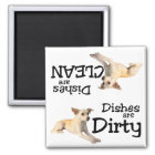 Chihuahua Lovers Dishwasher Magnet