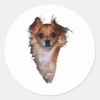 Chihuahua Lovers Round Sticker