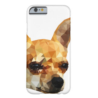 Chihuahua Low Poly Art Barely There iPhone 6 Case