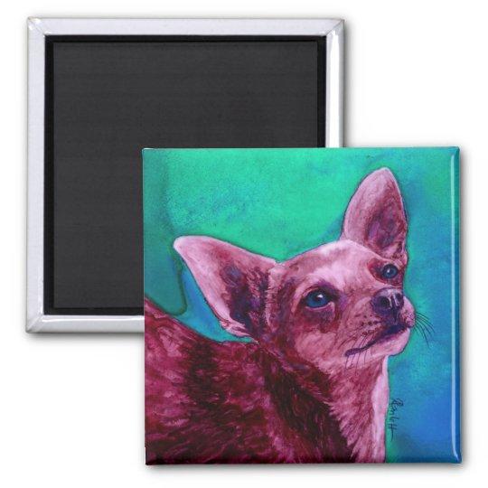 """Chihuahua Magnet - """"Velvet"""""""