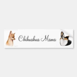 Chihuahua Mama Bumper Sticker