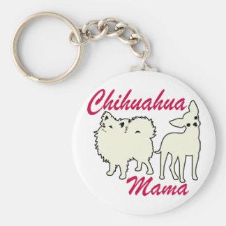 Chihuahua Mama Key Ring