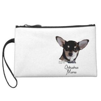 Chihuahua Mama Wristlet Purses