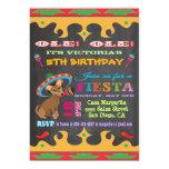 Chihuahua Mexican Fiesta Birthday Party Invitation 13 Cm X 18 Cm Invitation Card