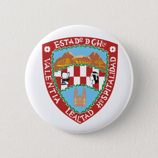 Chihuahua, Mexico flag 6 Cm Round Badge