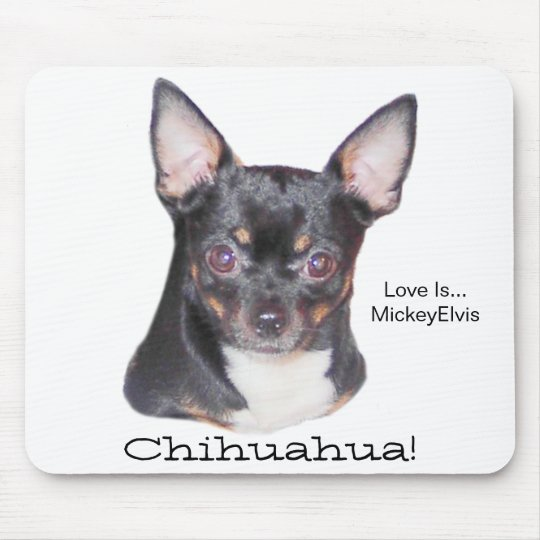 Chihuahua MickeyElvis Mousepad