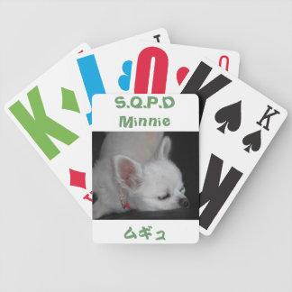 Chihuahua Minnie ポーカートランプ