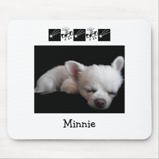 Chihuahua Minnie マウスパッド