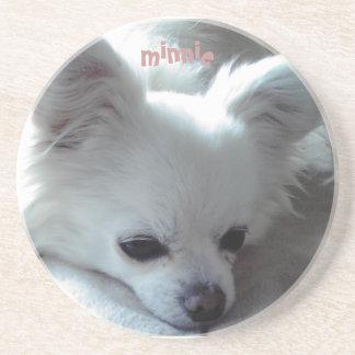 Chihuahua Minnie Beverage Coaster