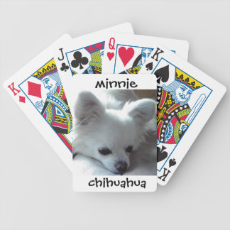 Chihuahua Minnie Deck Of Cards