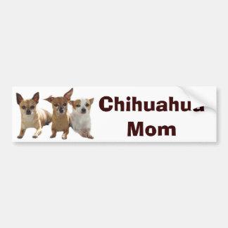 Chihuahua Mom Bumper Sticker