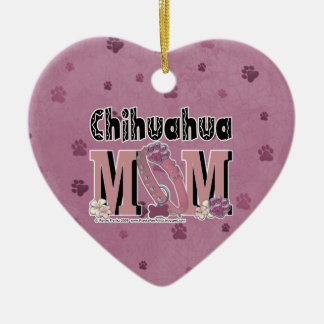 Chihuahua MOM Christmas Ornament