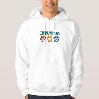 CHIHUAHUA Mom Paw Print 1 Hoodie