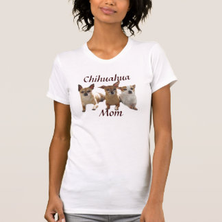 Chihuahua Mom T-Shirt Double Quote