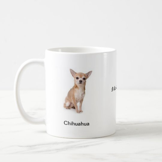 Chihuahua Mug - With Two Images And A