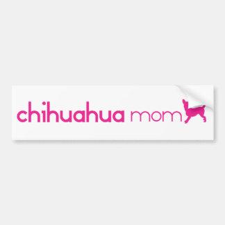 Chihuahua Mum Bumper Stickers