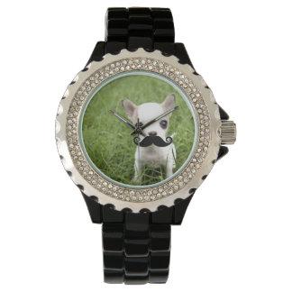 Chihuahua Mustache Watch
