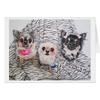 Chihuahua Notecards Card
