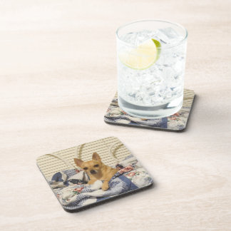 Chihuahua Or Your Photo 6 Piece Coaster Set