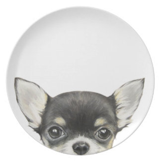 Chihuahua original design by miart plate