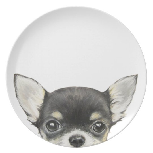 Chihuahua original design by miart plate