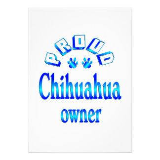Chihuahua Owner Custom Invites